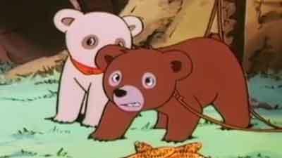 کارتن خرس ها جیل و جکی