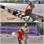نام سرباز فداکار حمله تروریستی به رژه در اهواز