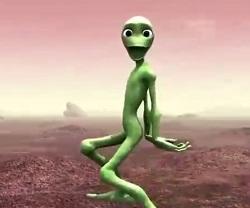 اهنگ چالش ادم فضایی قورباغه